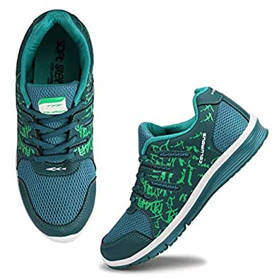 Columbus Women's Green Sports Shoes