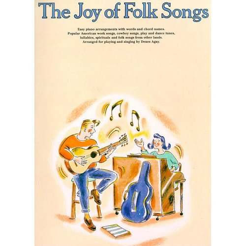 Descargar Libro The Joy Of Folk Songs. Partituras para Piano, Voz y Guitarra(Símbolos de los Acordes) de Unknown