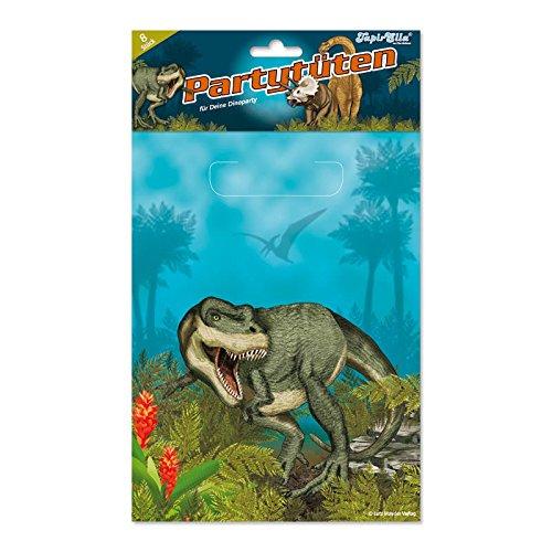 8bolsas de fiesta * & dinosaurios T-Rex * para fiestas y cumpleaños infantiles//Set Bolsas bolsas obsequios