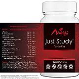 NOOTROPIC⁸ by nutritify® JUST STUDY⁸ Brain Booster⁸   120 Konzentrations⁸-Tabletten mit B5¹ für Dein Gedächtnis - Nootropika⁸-Kapseln mit Zink² fürs Gehirn - Ginkgo & Acetly-L-Carnitin   OHNE Koffein