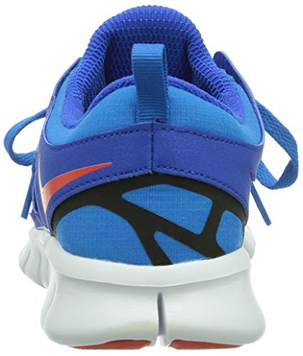 Nike Free Run 2, Chaussures de running garçon Bleu (Hyper Cobalt/Tm Orange-Photo Blue-Black)