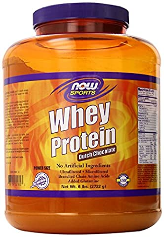 Whey protein - 2.722 kg - Chocolat - Now foods