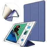 Funda para iPad mini 1/2/3, Supstar suave iPad mini carcasa de silicona con soporte magnético [Auto Sueño/Estela] Smart Cover Protectora para Apple iPad Mini 3/2/1 (Azul marino)
