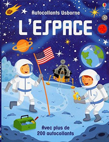 L'espace (Autocollants Usborne)