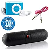 #4: Captcha Portable Stereo Bluetooth Pill Speaker Surround Sound And Hd Audio With AUX Cable 3.5mm Jack for Mobile Phone Car MP3 Speaker & ipod MP3 palyer Compatible with Xiaomi, Lenovo, Apple, Samsung, Sony, Oppo, Gionee, Vivo Smartphones (1 Year Warranty)