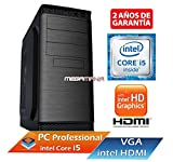 PC Ordenador de Sobremesa Intel Core i5-450M UP TO 2.66 Ghz | Memoria RAM de 4 Gb | HDD 1000 GB | RW DVD / CD | Intel Graphcis HDMI