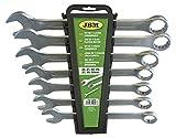 JBM 50896 Jeu de 7 Clés plates mixtes