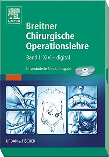 Breitner Chirurgische Operationslehre: Band 1-14 - digital