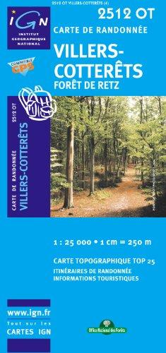 Villers-Cotterets/Foret de Retz GPS: IGN.2512OT