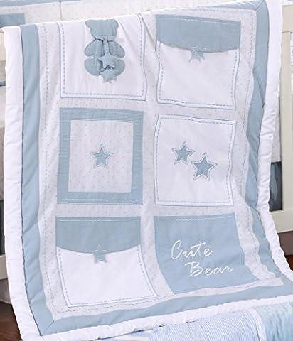 Ours Bleu All Star Quilt