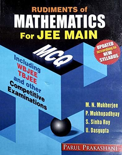 Rudiments of MATHEMATICS for JEE MAIN in English