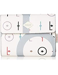 Oilily - Jolly Letters Purse Mh10f, Carteras Mujer, Blanco (Offwhite), 1x10x14 cm (B x H T)