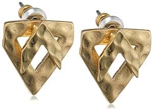Pilgrim-boucles d'oreilles clous femme-plaqué or - 111522003-réseaux