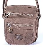 Handtasche / Schultertasche / Umhängetasche klein braun