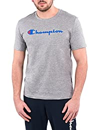 Champion 209616_S16 T-shirt col rond pour homme, anthracite, XXL