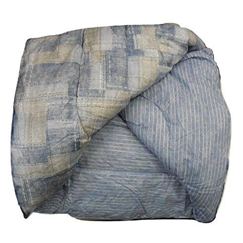 Trapunta shade blu zucchi matrimoniale cm. 260x260 - double face
