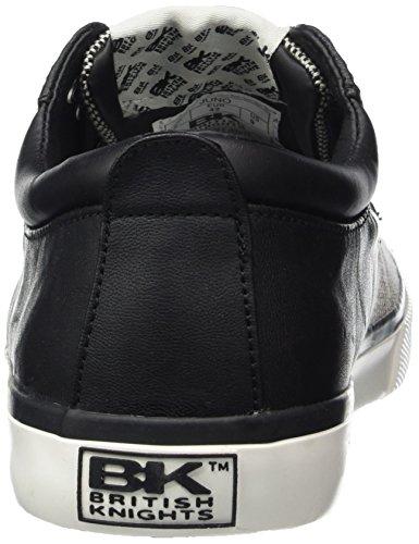 British Knights Juno, Baskets Basses homme Blanc - Weiß (Black-Off White 06)