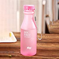 Beautyrain 550 ml Wasser Flasche BPA Frei Scrub Unzerbrechlich Wasserflasche für Fahrrad Sport Reisen Camping... preisvergleich bei billige-tabletten.eu