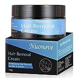 Haarentfernungscreme Enthaarungscreme, Enthaarungsmittel, Hair Removal Cream, Professioneller Haarentferner für Männer und Frauen, Lässt die Haut sanft, fur Gesicht, Bikini, Unterarm, 100g