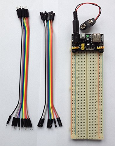 Kit BreadBoard con modulo alimentatore 830 Point