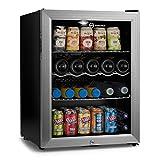 Subcold Super65 LED - Midi Fridge | 65L Beer, Wine and Drinks Fridge | LED Light + Lock and Key | Low Energy A++