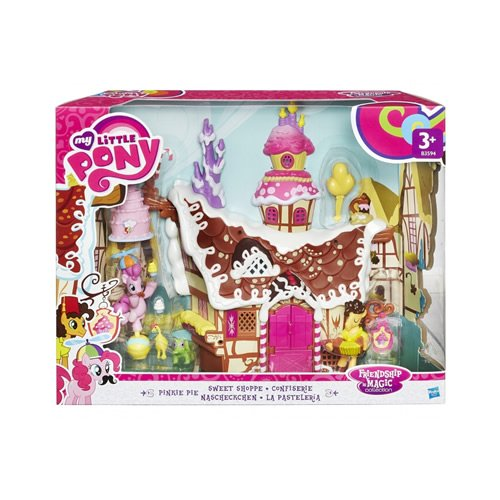 Hasbro My Little Pony B3594EU4 - FIM Pinkie Pie's Nascheckchen, Spielset (Pony-party-spiele Little My)