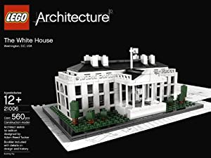 LEGO Architecture White House