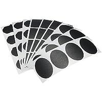 Tocoss(TM) 36x Kleine Chalk Schwarzes Brett Mason Jar Labels entfernbare Wand-Aufkleber Tafel G¨¹nstige Einzigartige K¨¹che Organizing-Dekor