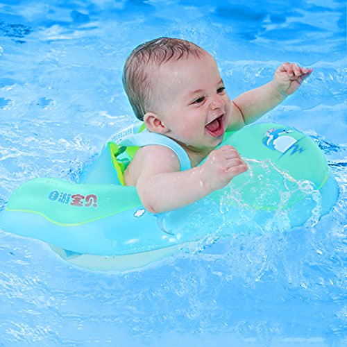Accessories Activity & Gear Dependable Safety Baby Neck Float Swimming Newborn Baby Swimming Neck Ring With Pump Gift Mattress Cartoon Pool Swim Ring For 0-24 Months Quality And Quantity Assured
