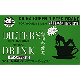China Green Dieters Tea — Dieters Tea For Wt Loss 12 Ct