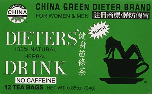 Uncle Lee's Tea - Dieters Tea for Weight Loss - 12 Bag -