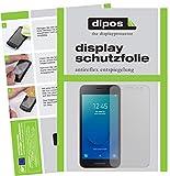 dipos I 2X Schutzfolie matt passend für Samsung Galaxy J2 Core (2018) Folie Bildschirmschutzfolie