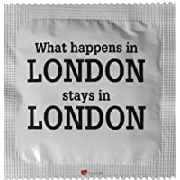 I Luv LTD Was in London Neuheit Condom 3er Pack preisvergleich bei billige-tabletten.eu