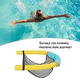 Innovativa sedia galleggiante per piscina Incredibile sedia galleggiante con noodle Seggiolini per piscine universali Accessori per nuotare super-galleggiamento