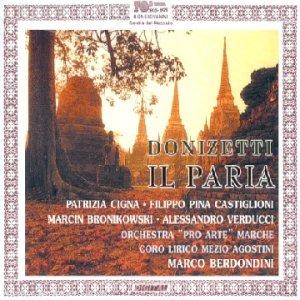 Donizetti : Il Paria