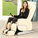 Massagesessel Relax Premium Sessel Fernsehsessel Massage Entspannungssessel (Creme)