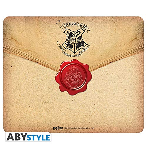ABYstyle - HARRY POTTER - Tappetino per il mouse - Lettera Hogwarts
