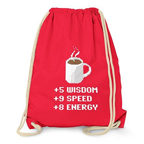 TEXLAB - Wisdom Speed Energy - Turnbeutel, rot