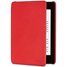 Amazon Kindle Paperwhite Leather Cover| Compatible with 10th Generation (2018 release), Red