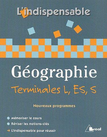 Géographie Tles L, ES et S