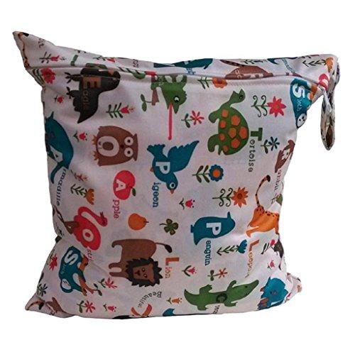 Koly La bolsa de orina bebé impermeable especial sola cremallera bolsa de almacenamiento, 11 colores,F
