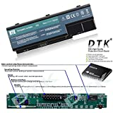 Image of Dtk Laptop Notebook Battery Replacement For Acer Aspire 5220 5220g 5330 5330g 5535 5739g 5910g 5920 5920g 5942g 6530g 6920 6920g 6930 6930g 6935 6935g Emachines E510 E520 G420 G520 G620 G720 Easynote Lj61 Lj65 Lj75 111v 4400mah