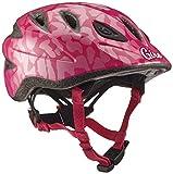 Giro Kinder Fahrradhelm Rascal, Pink Leopard, 46-50 cm, 7056138