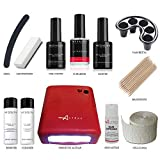 KIT SEMIPERMANENTE UNGHIE COMPLETO SMALTO MESAUDA MILANO GEL POLISH 5ml SMALTI + FORNETTO
