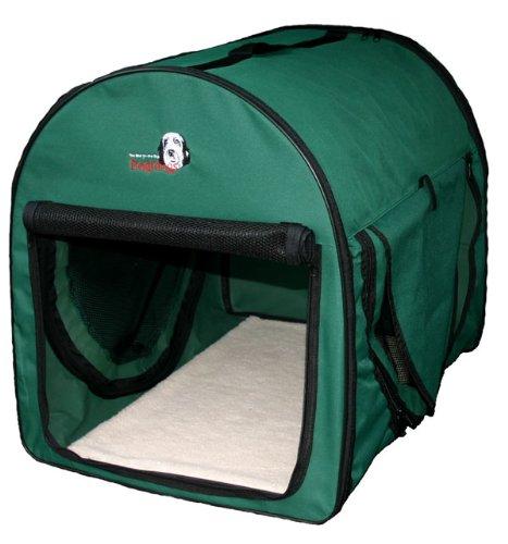 Transportbox faltbar Dogi Kennel Premium Größe L (70 x 51 x 59 cm) von Dogidogs