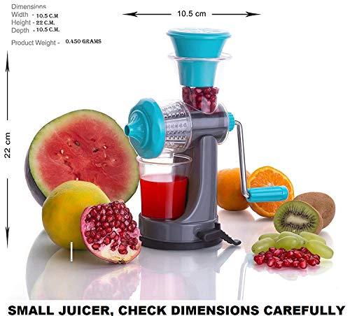 Slings Mini Handy Fruit Juicer Juicer Making Machine (Assorted Color)