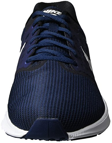 Nike Herren Downshifter 7 Laufschuhe Blau (Midnight Navy/white/dark Obsidian/black)