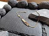 Personalisiertes Babyarmband, Kinderarmband mit Herz-Anhänger in 585er Gelbgold, ID Armband, Schildarmband mit Wunschgravur, GA-55/14GG