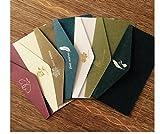 M-G-X High - Grade Bronzing Continental Umschlag Business Einladung Brief Briefmarke Valentine's Day Umschlag