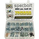 250pc Specbolt Yamaha vintage YZ IT Bolt Kit 125 175 200 250 400 425 465 490 500 Maintenance Restoration YZ125 IT175 IT200 YZ250 IT250 MX360 YZ400 IT400 IT425 YZ465 IT465 YZ490 IT490 WR500 MX DT GT WR by Specbolt Fasteners